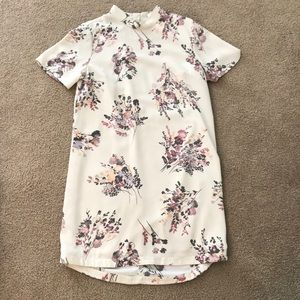 Leith floral dress